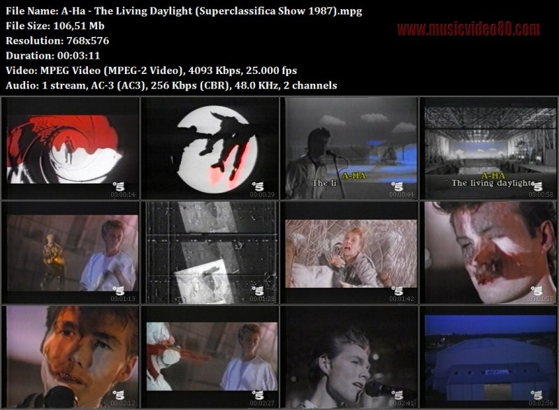 A-Ha - The Living Daylight (Superclassifica Show 1987)