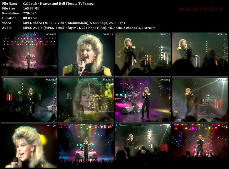 C.C.Catch - Heaven and Hell (Tocata TVE)