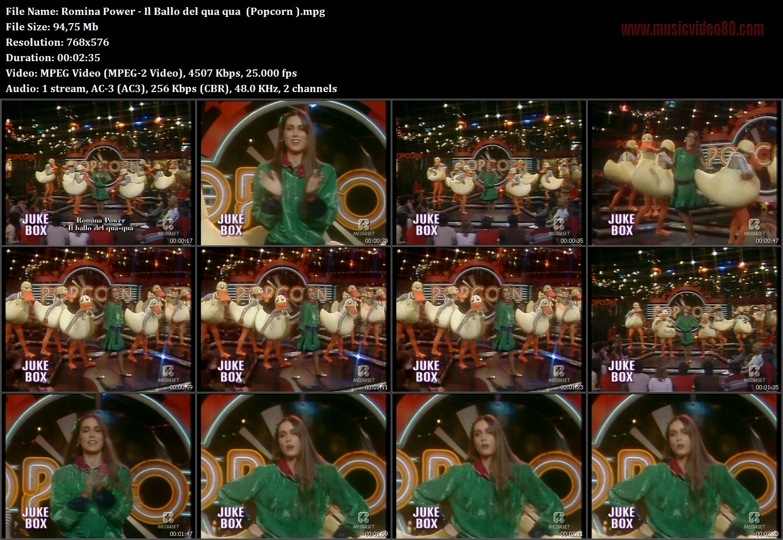 Romina Power Il Ballo Del Qua Qua Popcorn Musicvideo80com