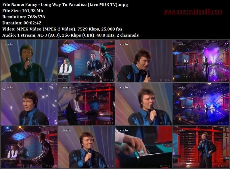 Fancy - Long Way To Paradise (Live MDR TV
