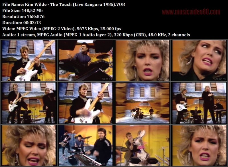 Kim Wilde - The Touch (Live Kanguru 1985)
