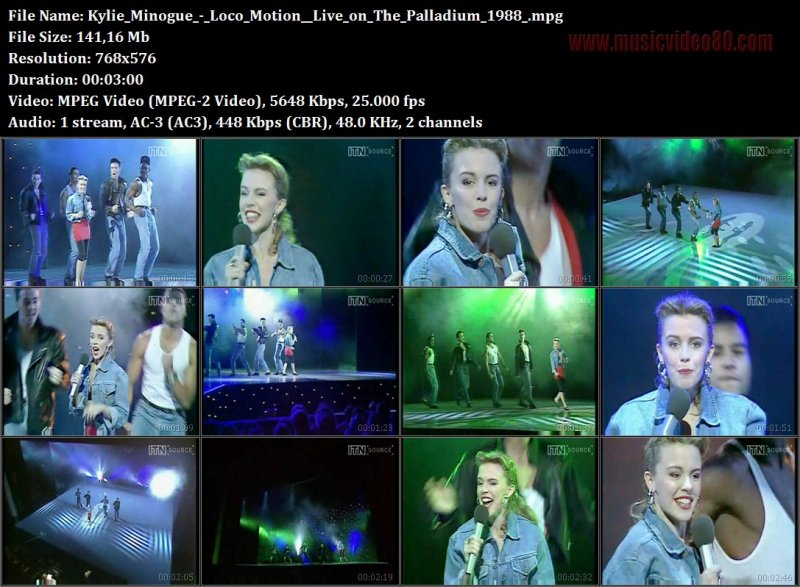 Kylie Minogue - Loco Motion (Live on The Palladium 1988)