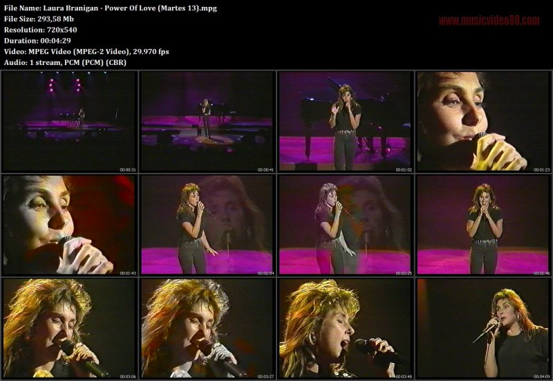 Laura Branigan - Power Of Love (Martes 13)