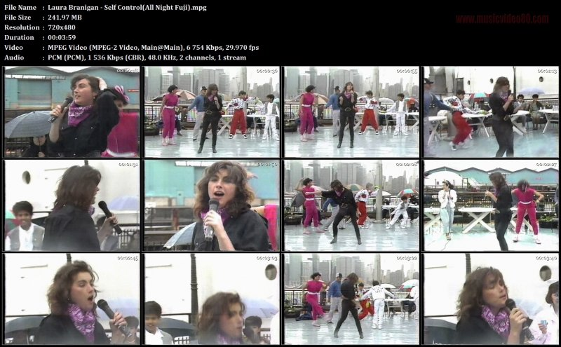 Laura Branigan - Self Control(All Night Fuji)
