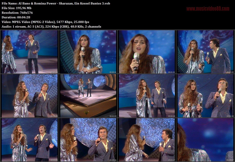 Al Bano & Romina Power - Sharazan ( Ein Kessel Buntes ...