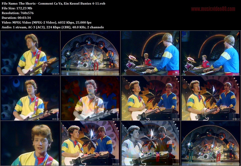 The Shorts - Comment Ca Va, ( Ein Kessel Buntes )- » MusicVideo80.com
