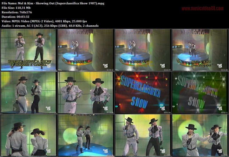 Mel & Kim - Showing Out (Superclassifica Show 1987)