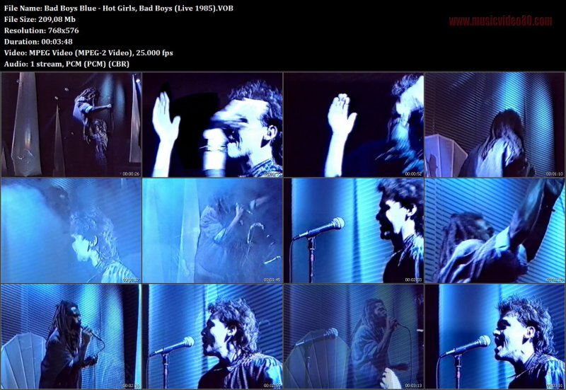 Bad Boys Blue - Hot Girls, Bad Boys (Live 1985).