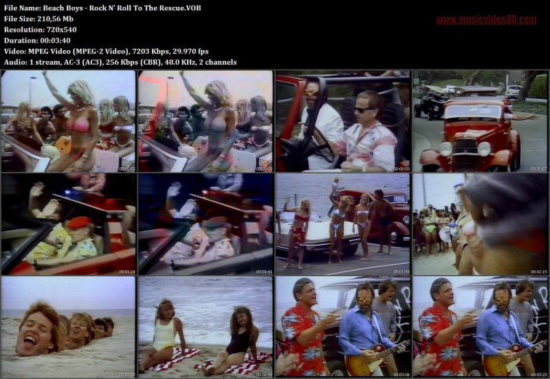 Beach Boys - Rock N' Roll To The Rescue