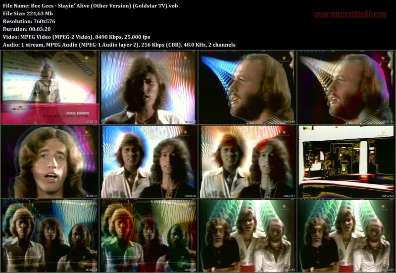 Bee Gees - Stayin' Alive (Other Version) (Goldstar TV)