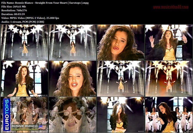 Bonnie Bianco - Straight From Your Heart ( Eurotops,N3 )