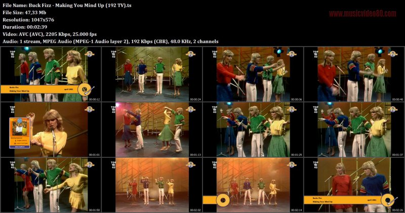 Buck Fizz - Making You Mind Up (192 TV)
