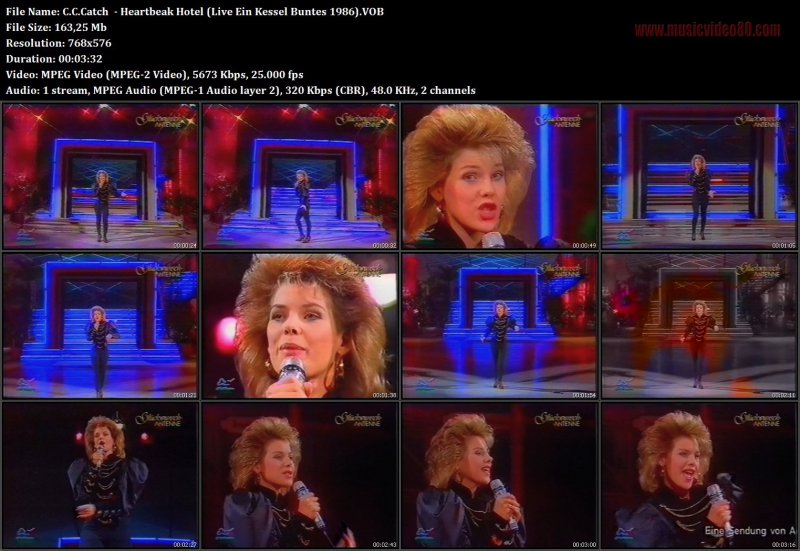 C.C.Catch - Heartbreak Hotel ( Ein Kessel Buntes 1986 ...