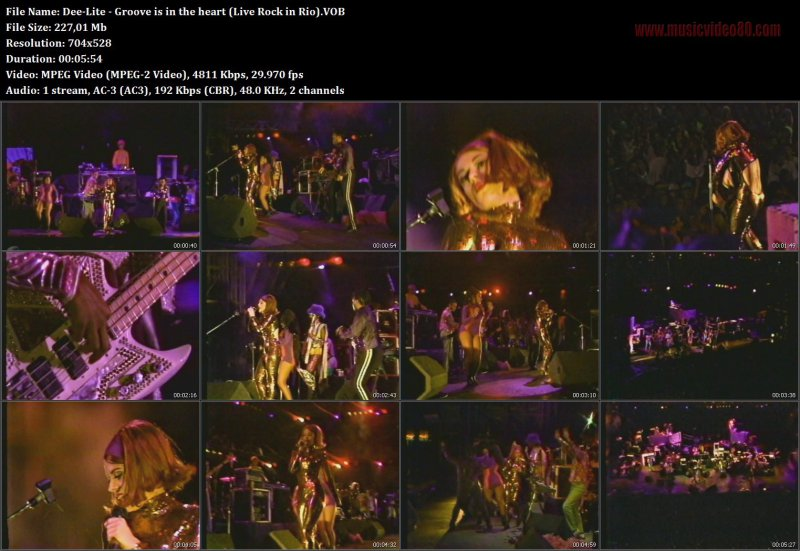Dee-Lite - Groove is in the heart (Live Rock in Rio).