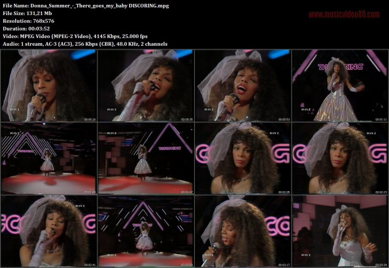 Donna Summer - There goes my baby  (  Discoring )