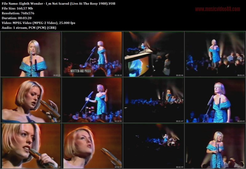 Eighth Wonder - I m Not Scared (Live At The Roxy 1988)