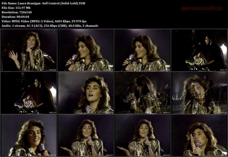 Laura Branigan -Self Control ( Solid Gold )