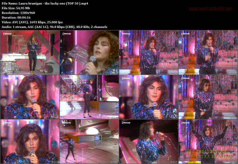 Laura Branigan - the lucky one (TOP 50 )