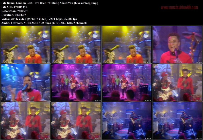 London Beat - I've Been Thinking About You (Live at Totp)