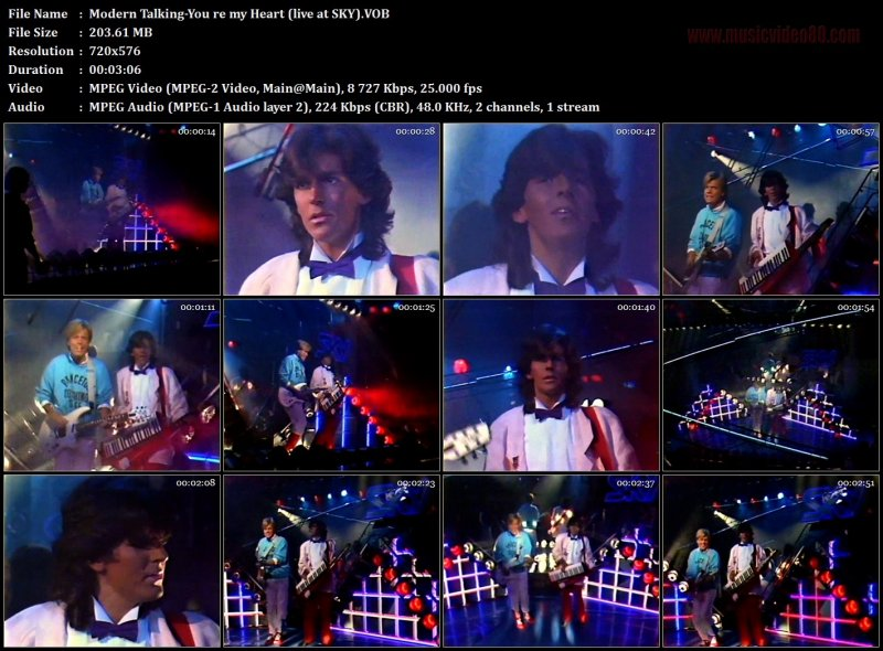 Modern Talking - You re my Heart (live at SKY)