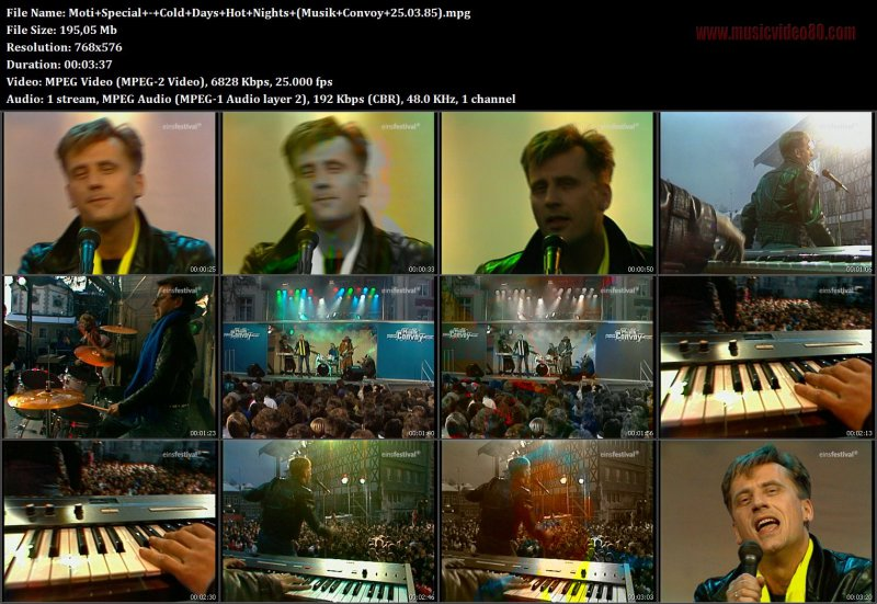 Moti Special - Cold Days Hot Nights ( Musik Convoy 25.03.85)