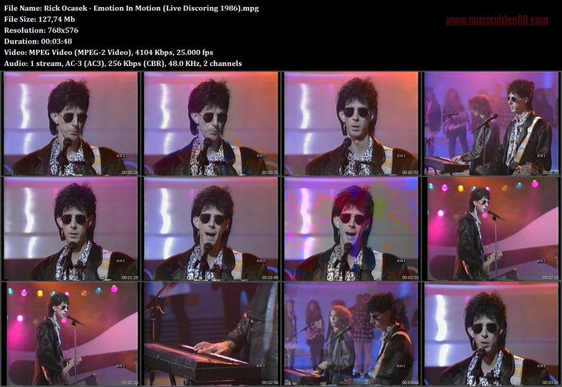 Rick Ocasek - Emotion In Motion (  Discoring 1986)