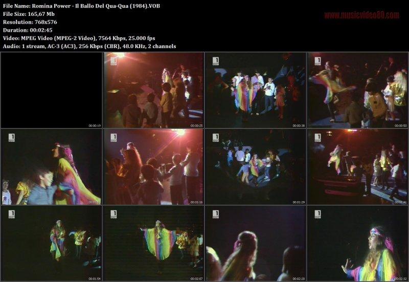 Romina Power Il Ballo Del Qua Qua 1984 Musicvideo80com
