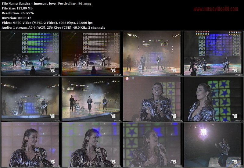 Sandra - Innocent love ( Festivalbar 86 )