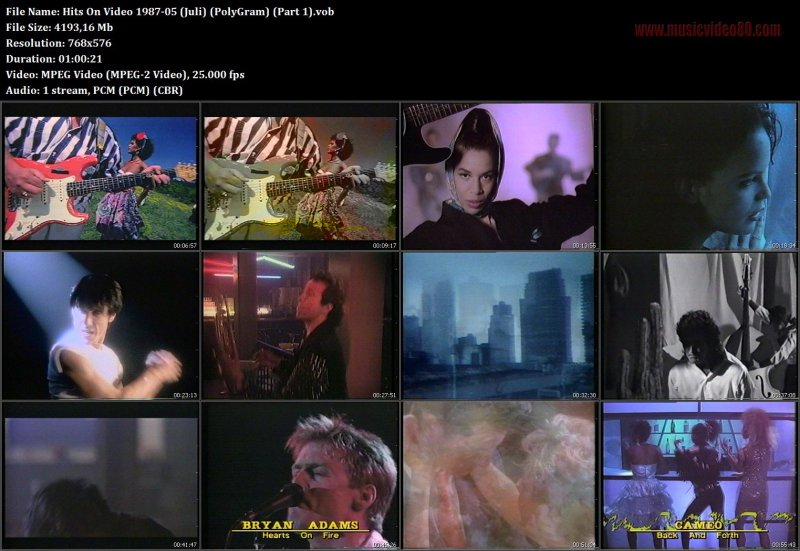 PolyGram Hits On Video 1987-05 (Juli)